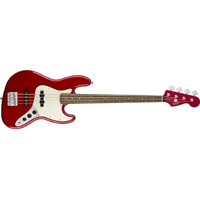 Squier by Fender エレキベース Contemporary Jazz Bass® Laurel Fingerboard, Dark Metallic Red