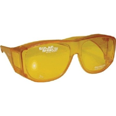 Blue Blocking Sun Shield Yellow Sunglass by Solar Shield