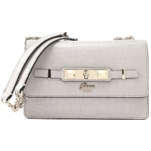 ゲス GUESS CHERIE CONVERTIBLE CROSSBODY FLAP (CLOUD) レディース