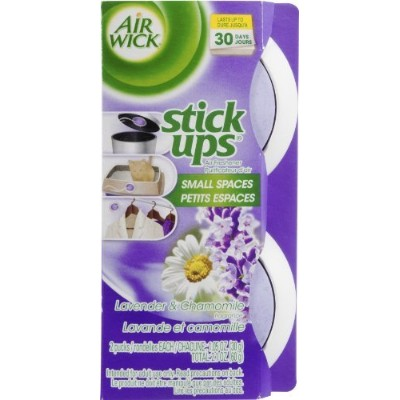 Air Wick 85825 Lavender & Chamomile Stick Ups Air Fresheners by Air Wick