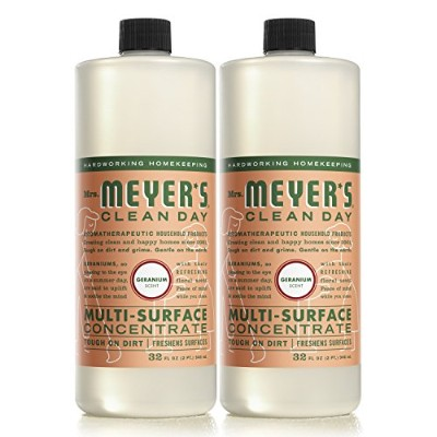。Mrs。Meyers Clean Day Multi - Surface Concentrate、ゼラニウム、32fl oz