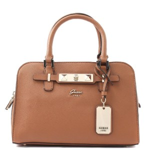 【SALE 30%OFF】ゲス GUESS CHERIE SMALL GIRLFRIEND SATCHEL (COGNAC) レディース