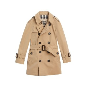 Burberry Kids The Wiltshire トレンチコート - ニュートラル