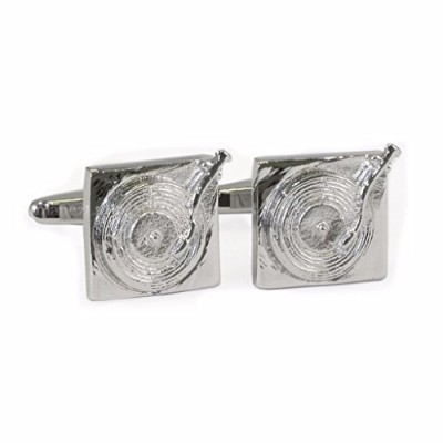 Turntable Style Cufflinks in Gift Box