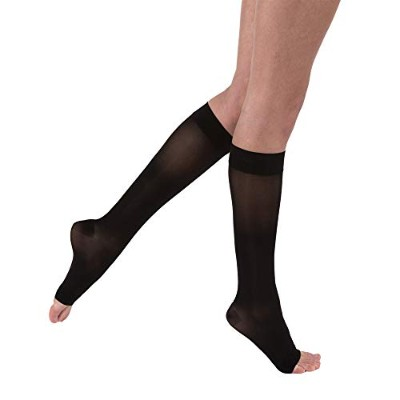Jobst 119510 Ultrasheer Knee High OPEN TOE Support Stockings 15-20 mmHg - Size & Color- Classic...
