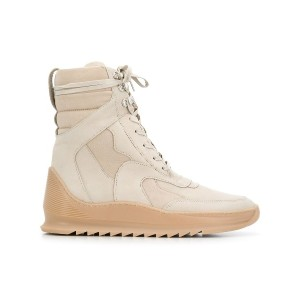 Filling Pieces fitted hi-top sneakers - ニュートラル