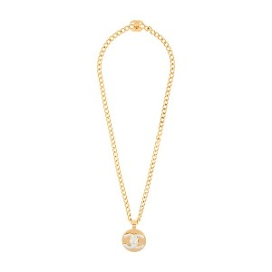 Chanel Vintage ペンダント ネックレス - メタリック