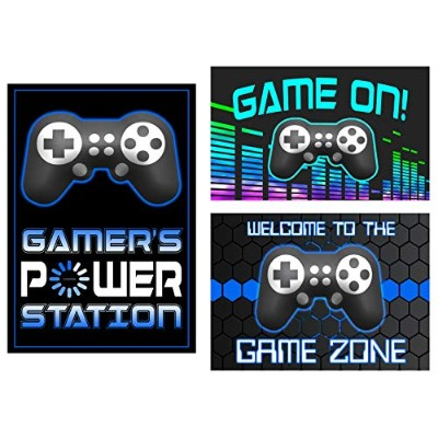 The Game Is On–Come Join the BattleビデオGamerテーマパーティー用品