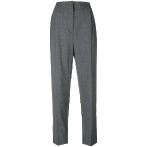 Pinko tailored cropped trousers - グレー