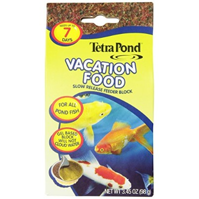 TetraPond 16477 Vacation Food Slow Release Feeder Block, 3.45 Ounce by Tetra Pond