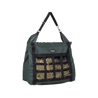 Tough-1 Nylon Hay Bag Tote with Dividers - Hunter by Tough 1