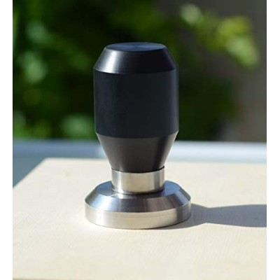 (57mm) - Premium Quality Coffee Espresso Tamper 100% Stainless Steel Base (57mm)