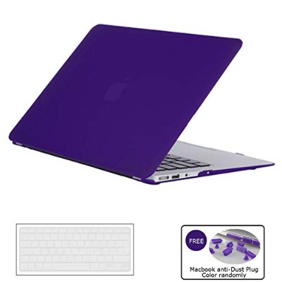 2016/2017 New MacBook Pro 15 inch Case, Soundmae Ultra Thin Frosted Plastic Hard Shell Mac Case...