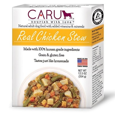 Caru Real Stews for Dogs 12.5oz (Chicken) by Real Stews for Dogs