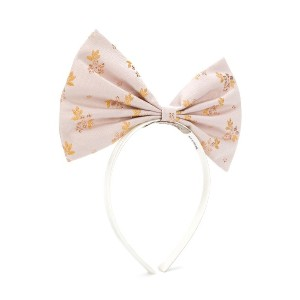 Hucklebones London Giant Bow hairband - ピンク
