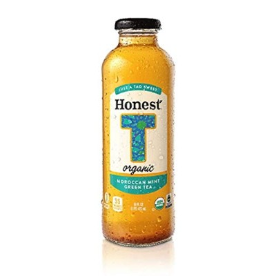 Honest Tea Organic Moroccan Mint Tea Bottle ( 12x16 OZ) by Honest Tea