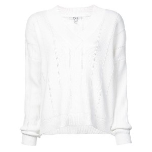 Derek Lam 10 Crosby V-Neck Sweater - ホワイト
