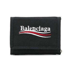 Balenciaga Explorer square coin wallet - ブラック
