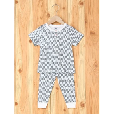 【SALE/30%OFF】PETIT BATEAU (K)exclusive プリントパジャマ プチバトー カットソー【RBA_S】【RBA_E】