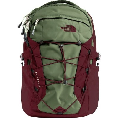 (取寄)ノースフェイス ボレアリス 28L バックパック The North Face Men's Borealis 28L Backpack Four Leaf Clover/Sequoia Red