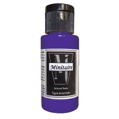 Badger Air-Brush Company, 2 Ounce Bottle Minitaire Airbrush Ready, Water Based Acrylic Paint, Ghost...
