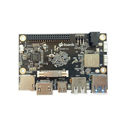 rock960ボード、最小rk3399ソリューション96boards 2 GB lpddr3 @ 1866 MHz HDMI 2.0最大4 K、サポートwith AOSP & Linux