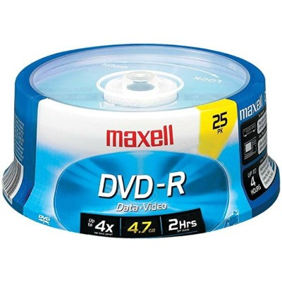 Maxell 639011 Dvd+r Spindle 4.7 Gb 25 カウント (海外取寄せ品)