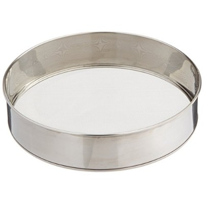 Scandicrafts Stainless Steel 10.25 Inch Fine Mesh Flour Sifter (1, 10.5) by chefgadget
