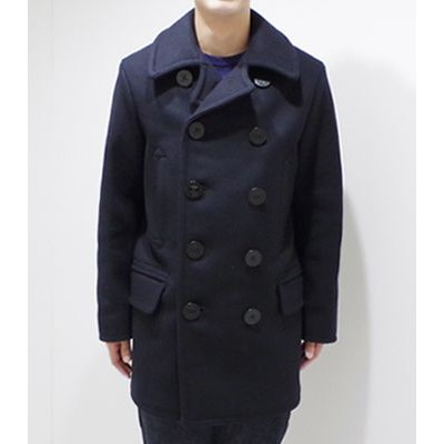 BUZZ RICKSON'S バズリクソンズ ENLISTED MEN'S OVERCOAT|ピーコート|LONG MODEL『PEA COAT NAVAL CLOTHING FACTORY』...