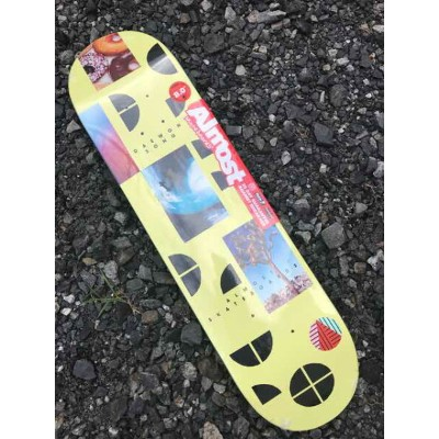 【Almost】7.875X31.4  DAEWON SONG FRAGMENTS SERIES Skateboard Deck オールモスト スケートボード デッキ