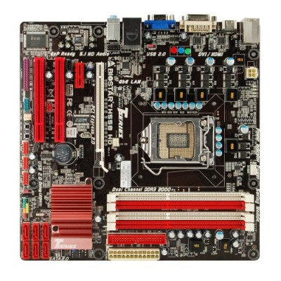 「BIOSTAR TH55B HD」LGA1156 MicroATXマザーボード