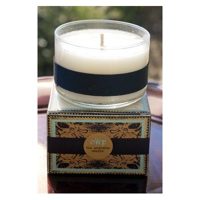 TheウェアラブルCandleハンドメイドOrganic Coconut Wax Candle–Dirtリッチ(木製+ Vine )–30Hour Candle