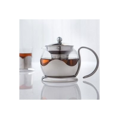 Sabichiガラスティーポット。The Perfect Cup of Tea made easy 。