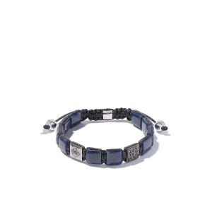 Shamballa Jewels 18kt white & black gold, sapphire and diamond Lock