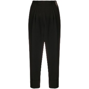 Elisabetta Franchi cropped trousers - ブラック