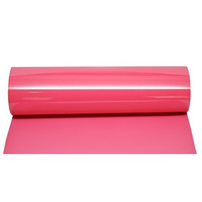 (1 sheet, Deep Pink) - Firefly Craft Heat Transfer Vinyl For Silhouette And Cricut, 30cm by 50cm ,...