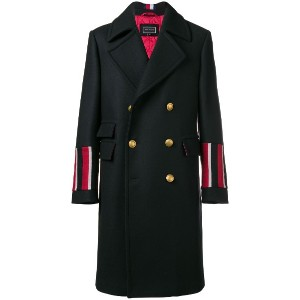 Tommy Hilfiger double breasted coat - ブルー