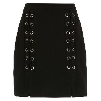 Olympiah lace up Messina skirt - ブラック