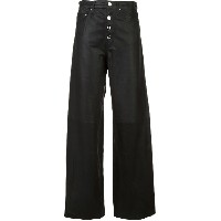 Amiri wide-leg trousers - ブラック
