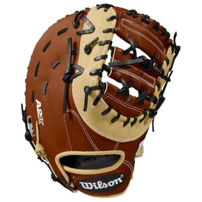 ウィルソン Wilson メンズ 野球 グローブ【A2K First Base Mitt】Copper/Blonde/Black