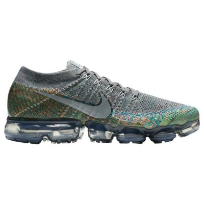 ナイキ Nike メンズ ランニング・ウォーキング シューズ・靴【Air VaporMax Flyknit】Dark Grey/Reflect Silver/Blue Orbit/Hyper...