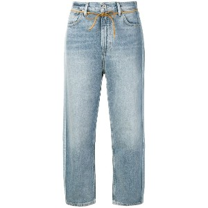 Levi's: Made & Crafted cropped jeans - ブルー