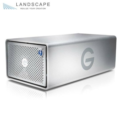 G-RAID Removable Thunderbolt 2 USB 3.0 8000GB Silver JP〔0G04088〕