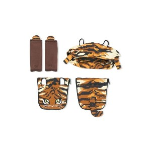 Dolce & Gabbana Kids tiger baby carrier covers - イエロー