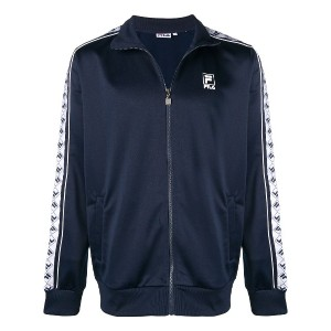 Fila logo band jacket - ブルー