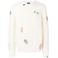 Ps By Paul Smith contrast stitch jumper - ホワイト