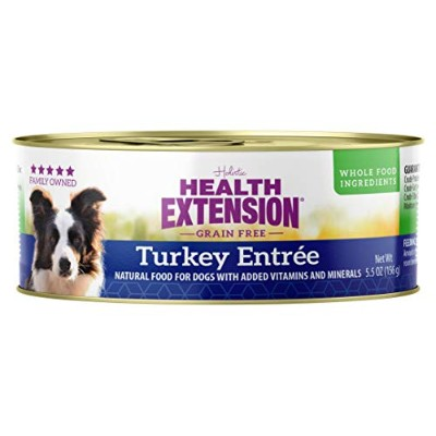 Health Extension Turkey Entree, 5.5-Ounce by Health Extension