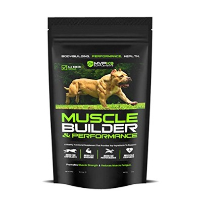 MVP K9 Muscle Builder and Performance Supplement 45gm Size: by MVP K9 Supplements