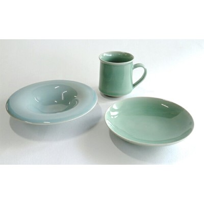 A30-49【ふるさと納税】茂正工房 青磁ひとやすみセット-1 福袋