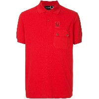 Raf Simons X Fred Perry front pocket polo shirt - レッド